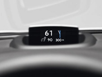 Peugeot 508 Colour Head-up Display