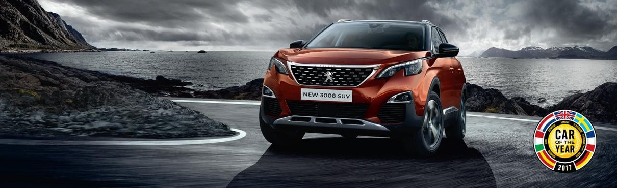 New PEUGEOT 3008 SUV named Car of the Year 2017