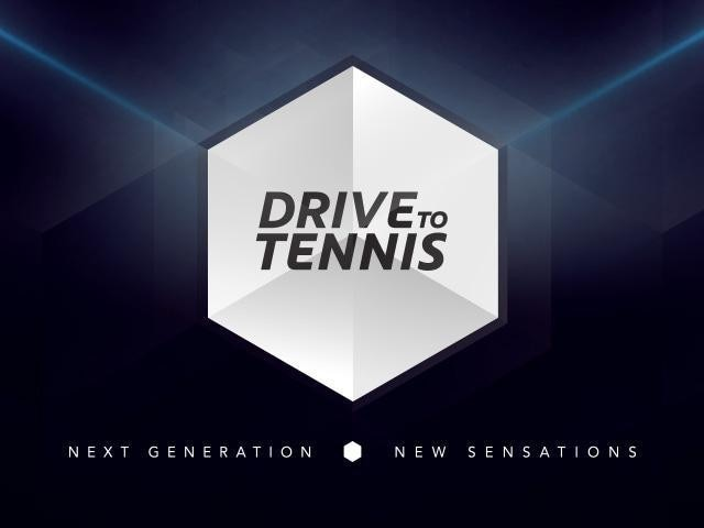 Drive To Tennis - The campaign's logo