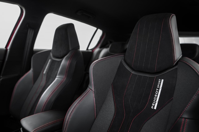 Sensory pleasure - Materials - Peugeot 308 GTi seats