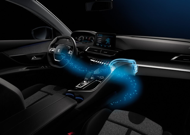 Sensory pleasure - i-Cockpit Amplify - Peugeot 3008