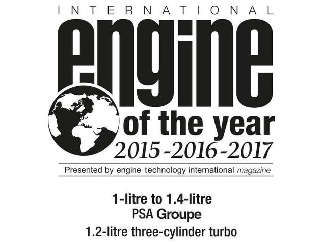 Engine Of The Year 2015 2016 2017 1L to 1.4L