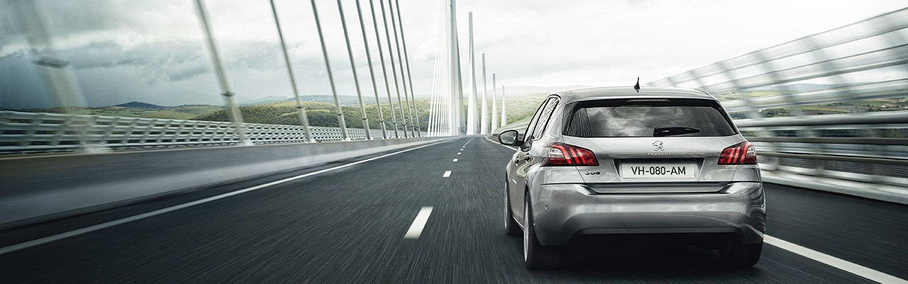 Peugeot 308 Dynamically Responsive
