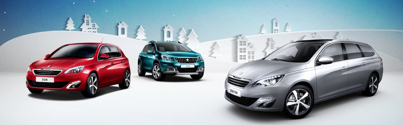 Peugeot Christmas Promotion