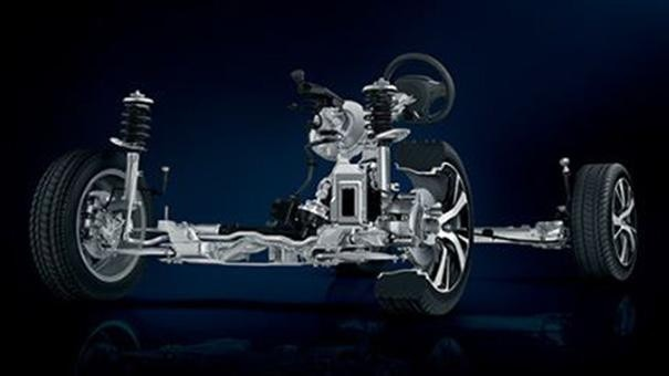 Peugeot 2008 SUV Wheelbase Connecting Components