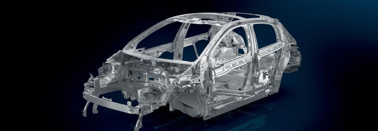 Peugeot 2008 SUV Body Structure