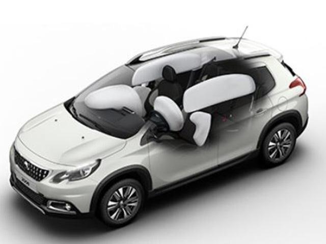 Peugeot 2008 SUV Airbags