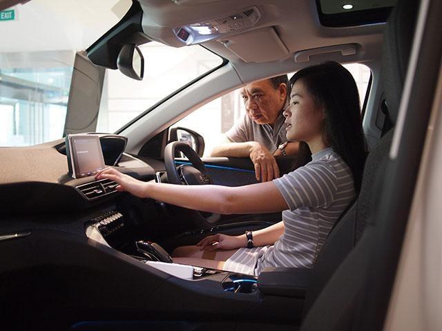 Peugeot 3008 SUV Interior