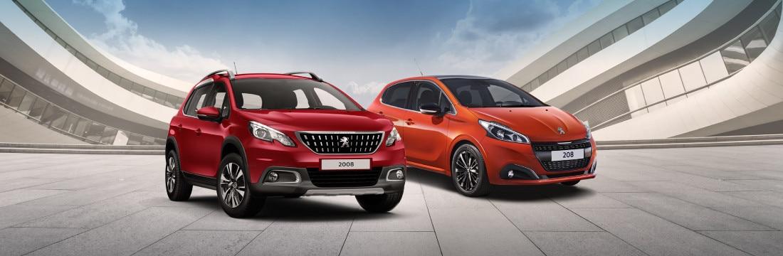 Peugeot 2008 and Peugeot 208