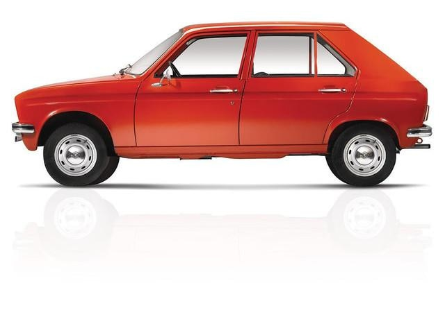 The automobile – 1972 the world's smallest 4-door saloon, the Peugeot 104