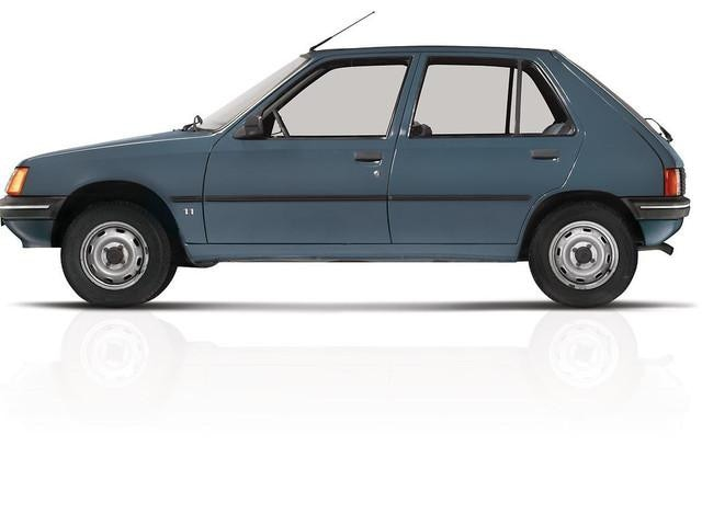 The automobile – 1983 launch of the 205, the most-exported French car