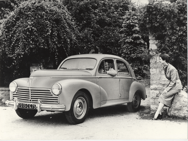 The automobile – 1948 launch of the 203, the first monocoque model