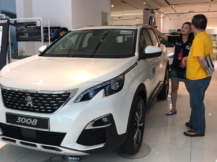Peugeot 3008 SUV at our Open House