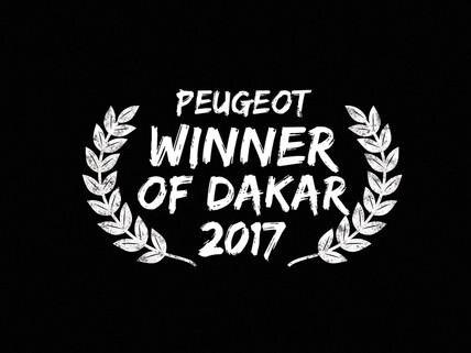 Peugeot winner Dakar