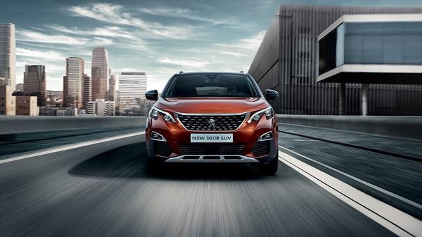 Peugeot 3008 SUV  Inspired Styling