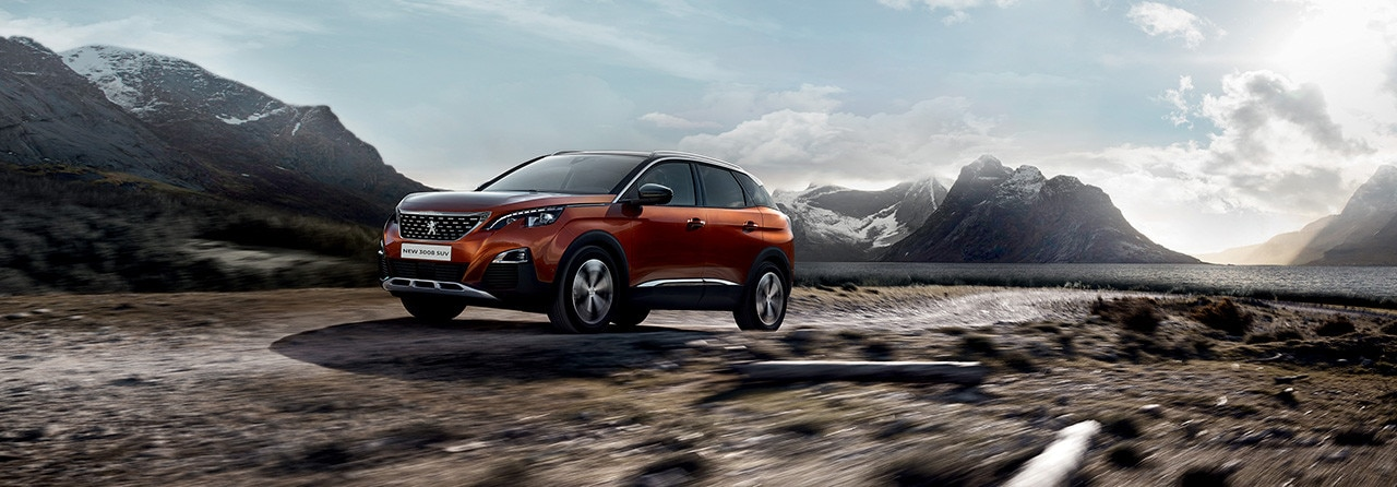 New Peugeot 3008 SUV Power and Elegance