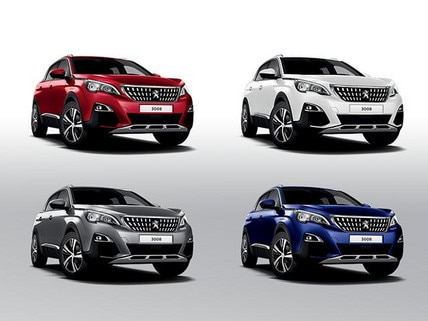 Peugeot 3008 SUV Colours