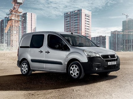 Peugeot Partner Van Flexibility