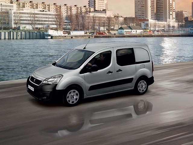 Peugeot Partner Van Design