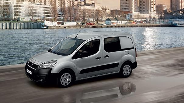 Peugeot Partner Van Design